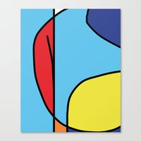 Untitled titulable Canvas Print