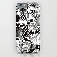 iPhone Cases featuring Cube-ular by Will Bryant
