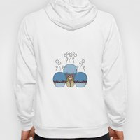 Cute Monster With Blue A… Hoody