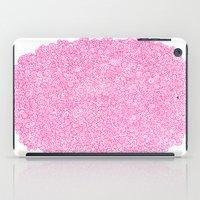 Pink Swirly Doodle iPad Case