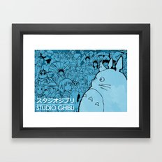 Celebrating Ghibli (fan art) Framed Art Print