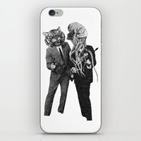 The Made Us Detectives (1979) Monochrome iPhone & iPod Skin
