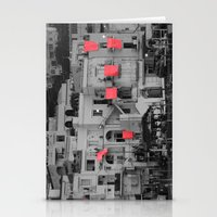Red Sheets Stationery Cards