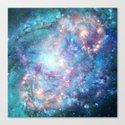 Abstract Galaxies 2 Canvas Print