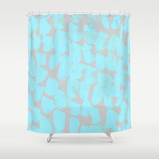 Abstract Pattern 78 Shower Curtain by Georgiana Paraschiv