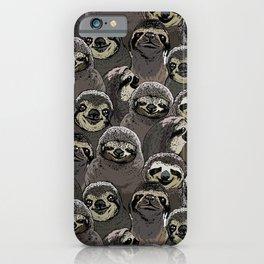 iPhone & iPod Case - Social Sloths - Huebucket