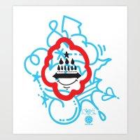 GIOSE X STREETART.COM Art Print