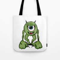 Mean Mike Tote Bag