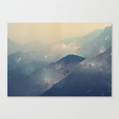 Mountains of Space Canvas Print