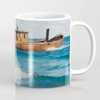 The Boat. Mug