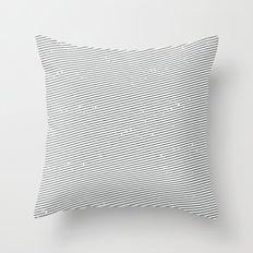 striped shirt Throw Pillow