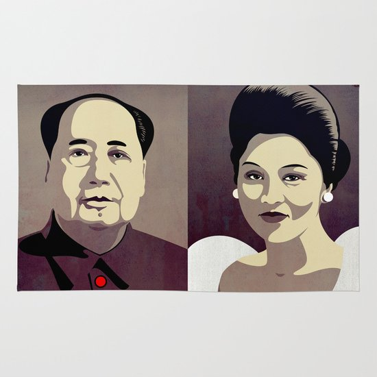 Dictators in Love: When Mao Met Imelda Area & Throw Rug