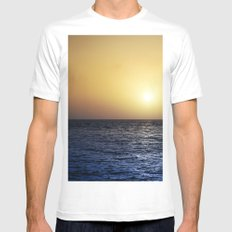 Tenerife White SMALL Mens Fitted Tee