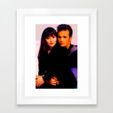 90210 Framed Art Print