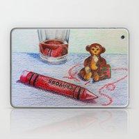 Crayon Love My Monkey is up to Something Laptop & iPad Skin