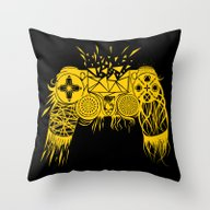 Out-of-controller Throw Pillow