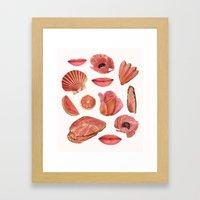 ROSE PINK Framed Art Print