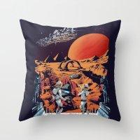 PLANET X Throw Pillow