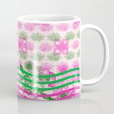 Abstract Roses Mug