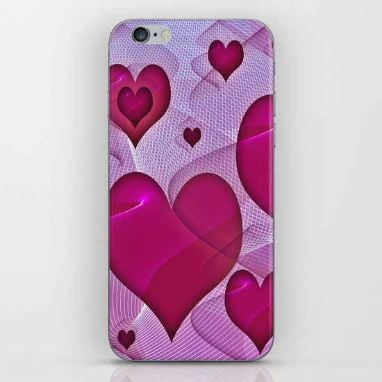 Hearts 4 iPhone & iPod Skin