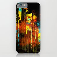 iPhone & iPod Case featuring technicity lights by frederic levy-hadida