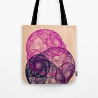 3 Bugs Nebula Tote Bag
