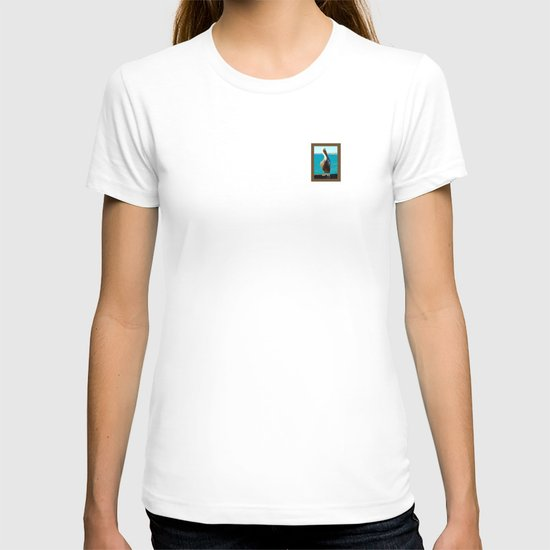 Portrait of a Perky Pelican T-shirt