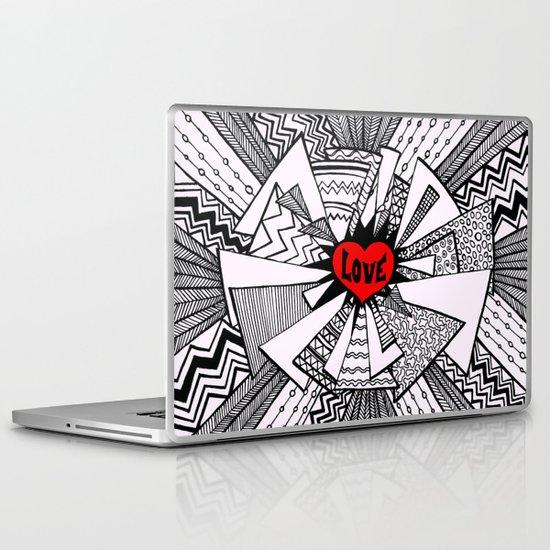 Power of Love... Laptop & iPad Skin