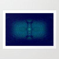 Coral-Ray Tube Art Print