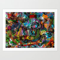 Every thought can change the day when let out in joyful play Art Print