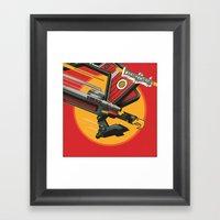 Laser Beak - Starscreami… Framed Art Print