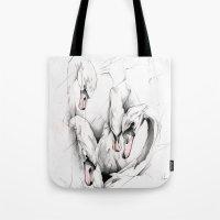Swans Tote Bag
