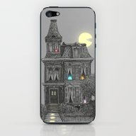 iPhone & iPod Skin featuring Haunted By The 80's by Terry Fan