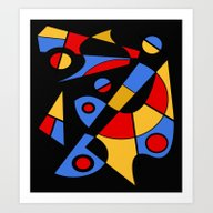 Abstract #115 Art Print