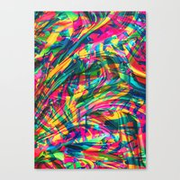 Wild Abstract Canvas Print