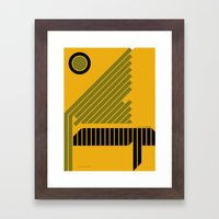 The Grid Is Back Poster Framed Art Print