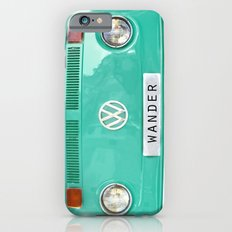 Wander wolkswagen. Summer dreams. Green iPhone 6 Slim Case