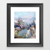 Untitled 20120323f (Landscape) Framed Art Print