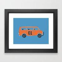 The General Van Framed Art Print