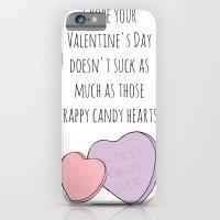 Candy Hearts Suck iPhone 6 Slim Case