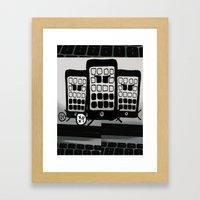 You're Killing Me Framed Art Print