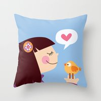 Milanesa Throw Pillow