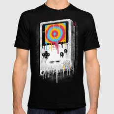 Gaming Black Mens Fitted Tee SMALL