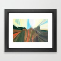 Morning Poppies Framed Art Print