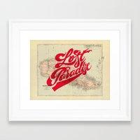 Lost Paradise Framed Art Print