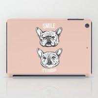 Smile It's Friday Frenchie iPad Case