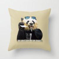 Hey Man ! Throw Pillow