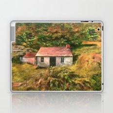 Old Irish cottage room for one Laptop & iPad Skin
