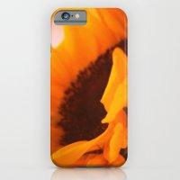 SunflowerPower ~ retro sunny orange flower iPhone 6 Slim Case