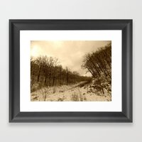 Parting Ways Framed Art Print